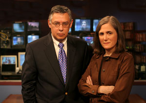 Amy Goodman and Juan Gonzalas Co-Hosts
