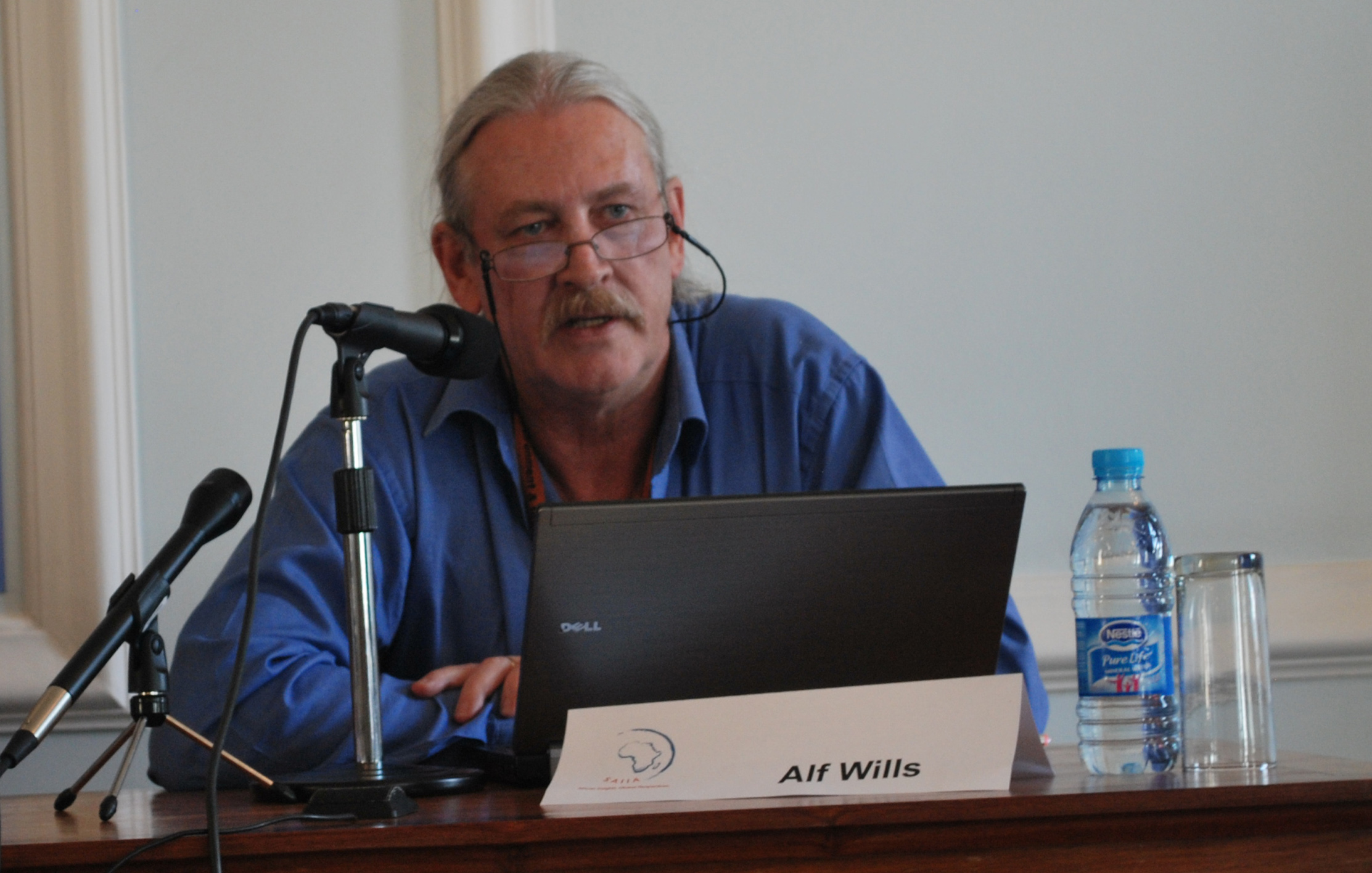 SA Chief Negotiator for Climate Change- Alf Wills