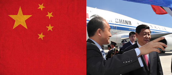 HE Mr Xi Jinping, the new President of China arriving in South Africa in 2010.